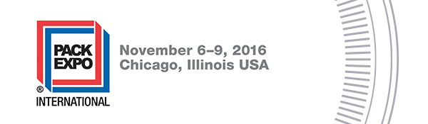 Pack Expo International | Chicago, IL | Nov 6-9, 2016
