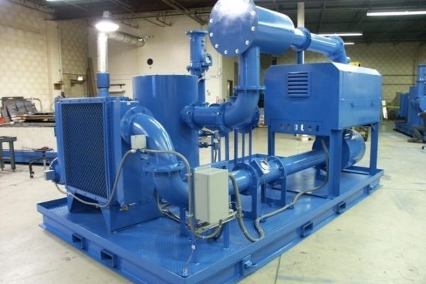 Example of a Soil Vapor Extraction (SVE) system