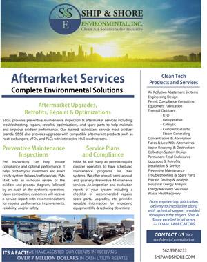 Aftermarket Services Brochure