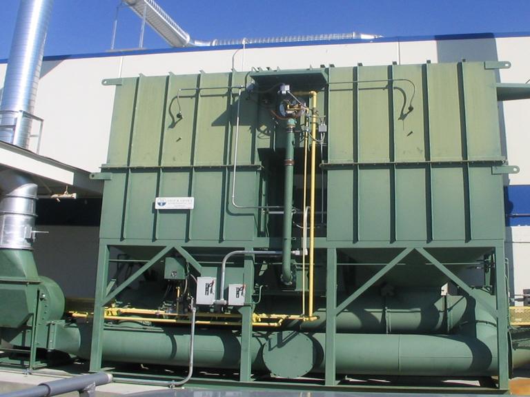 Used RTO's (Regenerative Thermal Oxidizers)