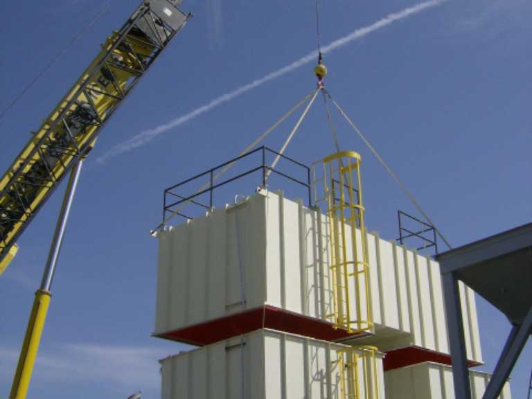 Air Pollution Control Equipment Installation