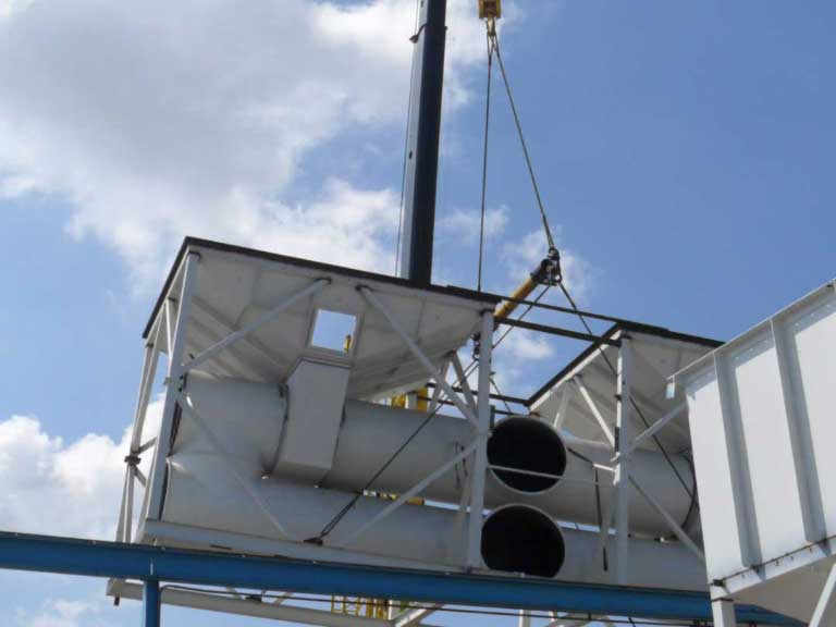 Installations Of Air Pollution Abatement Systems