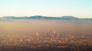 la-smog green house gas