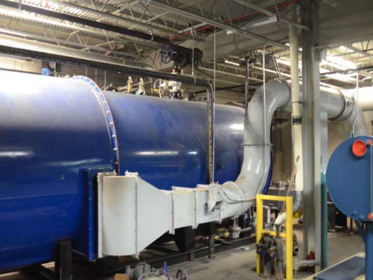 Steam Generating Thermal Oxidizer (SGTO)